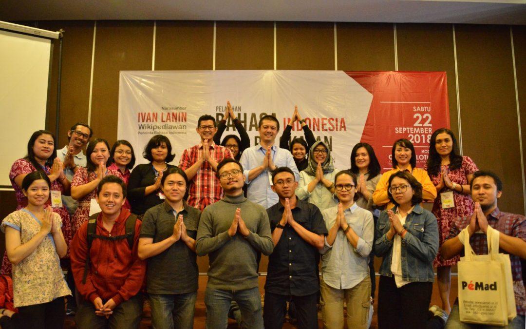 Bahasa Indonesia Dalam Pelokalan