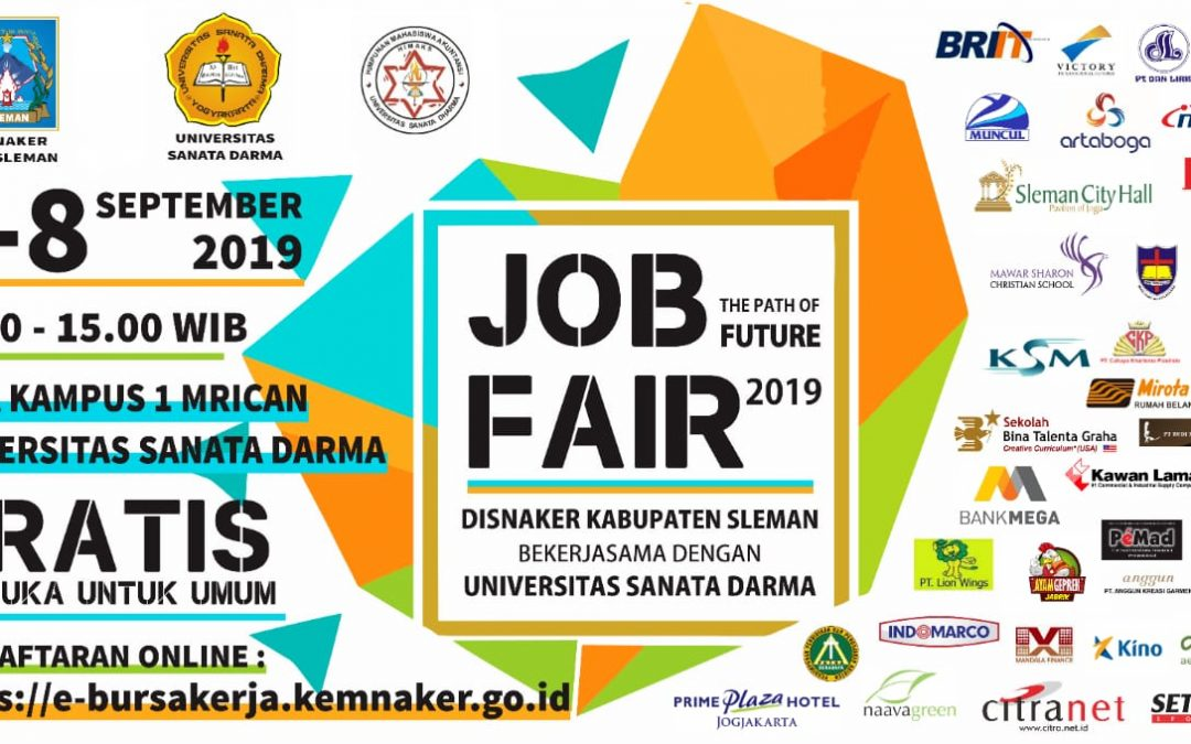 Job Fair Universitas Sanata Darma Yogyakarta – September 2019